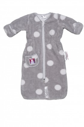 Puckababy Schlafsack The Bag Newborn Teddy grey online kaufen