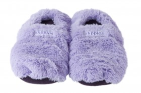 Slippies lila Plush Gr. M (36-40) mit Lavendelduft online kaufen