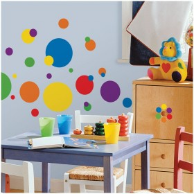 RoomMates Wandsticker Colorful Dots online kaufen