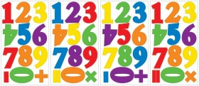 RoomMates Wandsticker Colorful Numbers online kaufen