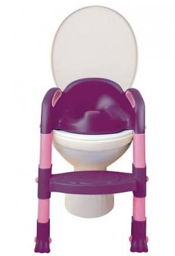 Funny Toilettentrainer Kiddyloo lila/rosa