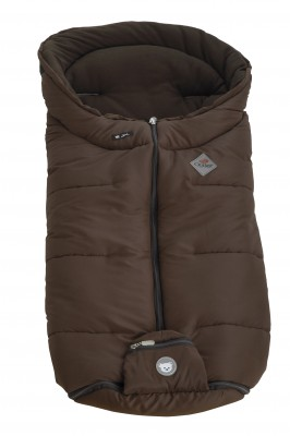 Alvi Kinderwagen Winter-Fußsack Outlast braun