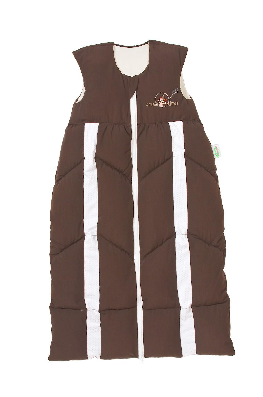 Odenwälder Baby-Schlafsack Prima Klima 70-90 cm schoko