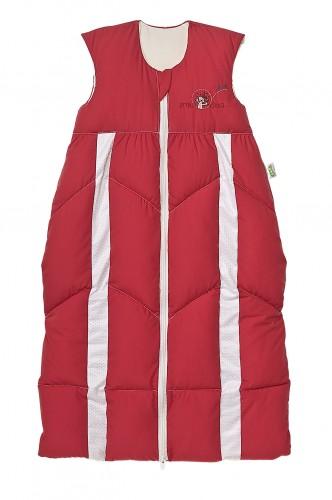 Odenwälder Baby-Schlafsack Prima Klima 110-130 cm rot