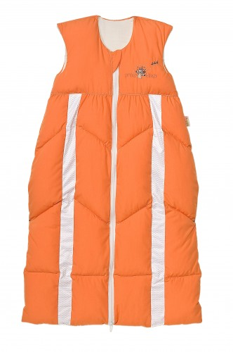 Odenwälder Baby-Schlafsack Prima Klima 110-130 cm orange