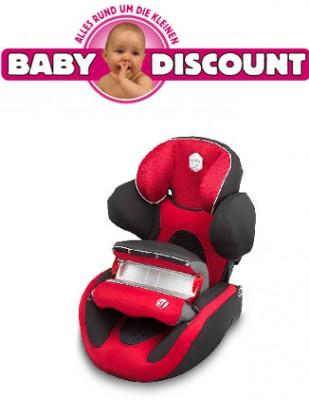 Kiddy Energy Pro E71 schwarz/rot Kinderautositz