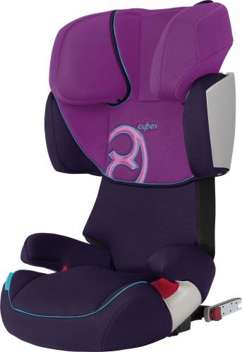 Cybex Kinderautositz Solution X-Fix Purple-Potion-pink