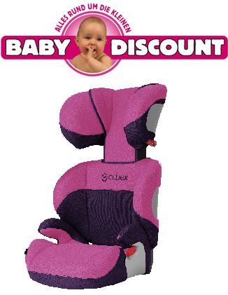 Cybex Solution Kinderautositz Sportoptik Purple Potion-pink