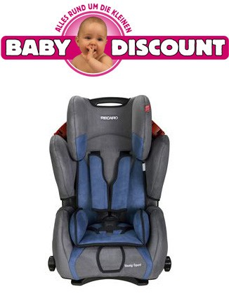 Recaro Young Sport Bellini Punched Shadow Autositz