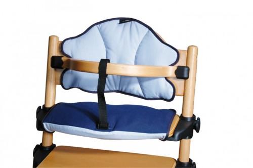 Baby Plus Sitzverkleinerer Treppenhochstuhl Hochstuhl TRX 7 blau