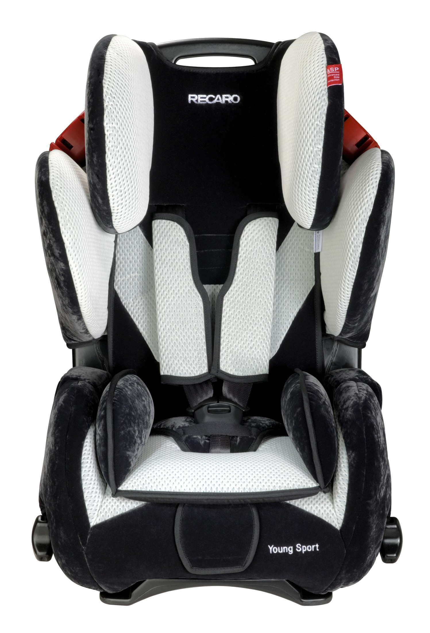 Recaro Young Sport Microfibre Black/silver Autositz