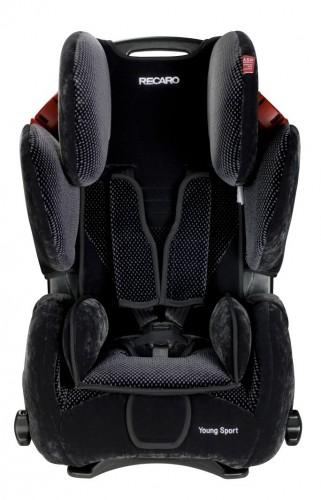 Recaro Young Sport Microfibre Black/aquavit Autositz
