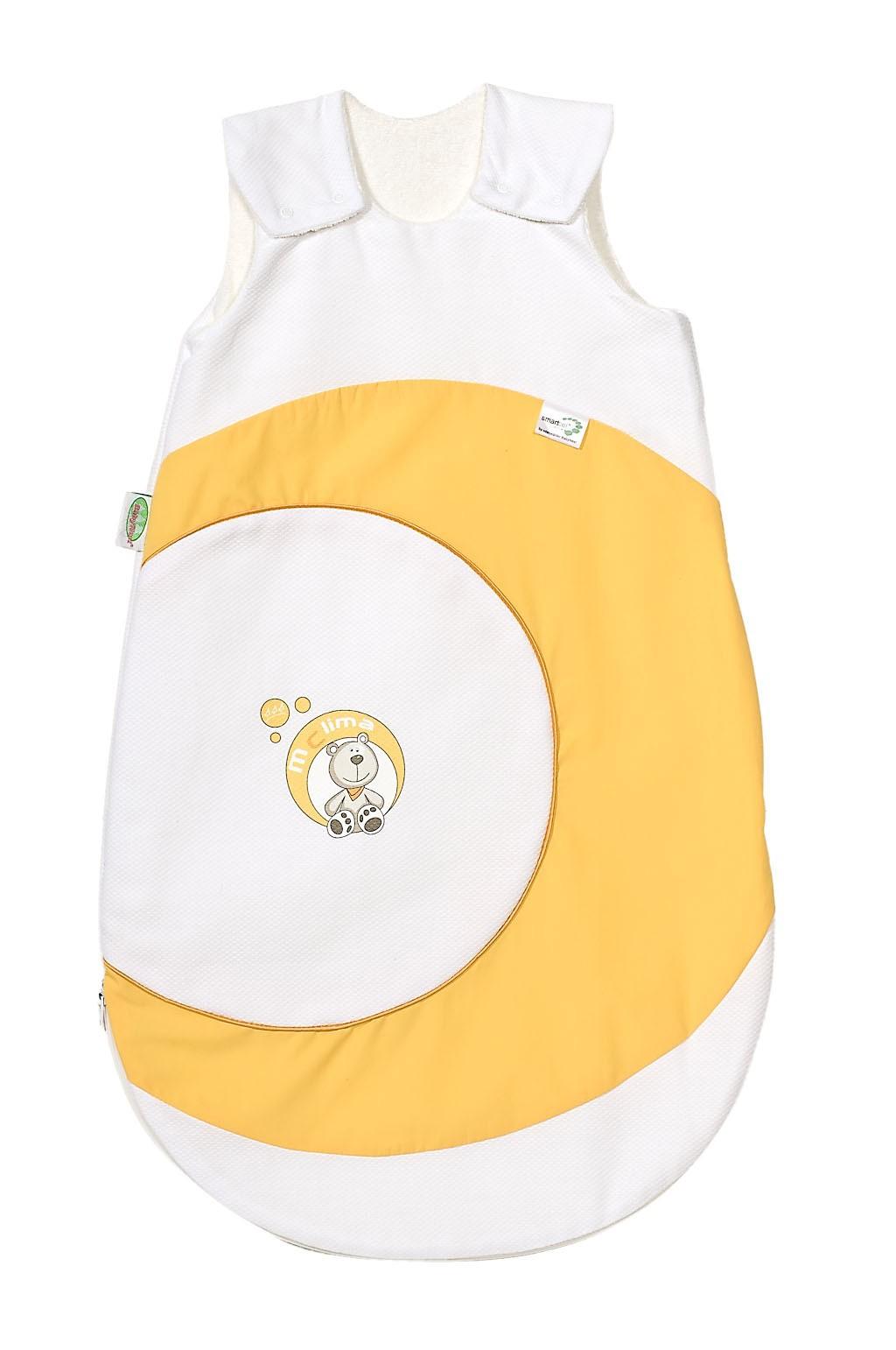 Odenwälder Baby-Schlafsack Mclima cold gelb