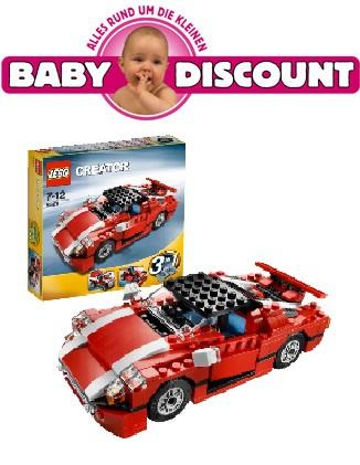 LEGO, 5867 Creator: Roter Sportwagen