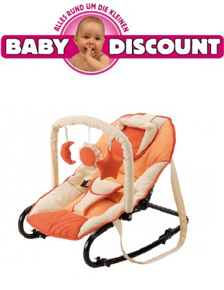 Baby Plus Baby Wippe Bella sand apricot