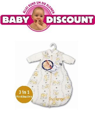 Aro Baby Safe Jersey Trolly Schlafsack Dschungel 74/80