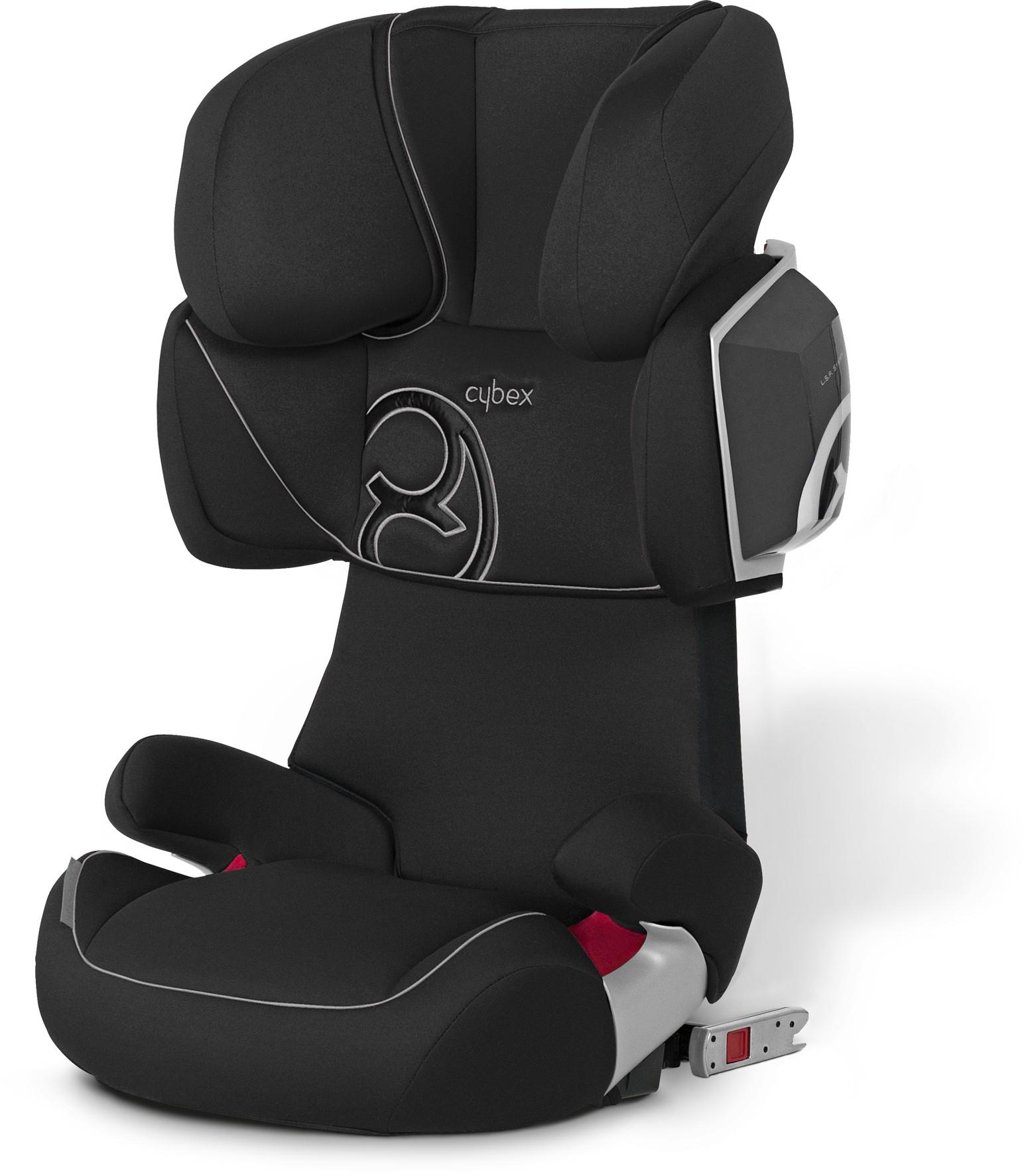 Cybex Gold Line Autositz Solution X2-Fix Pure Black-black