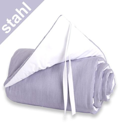 Babybay Nestchen stahl/weiß für Beistellbett maxi