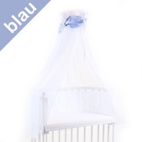 Babybay Himmel für Beistellbett blau/weiß