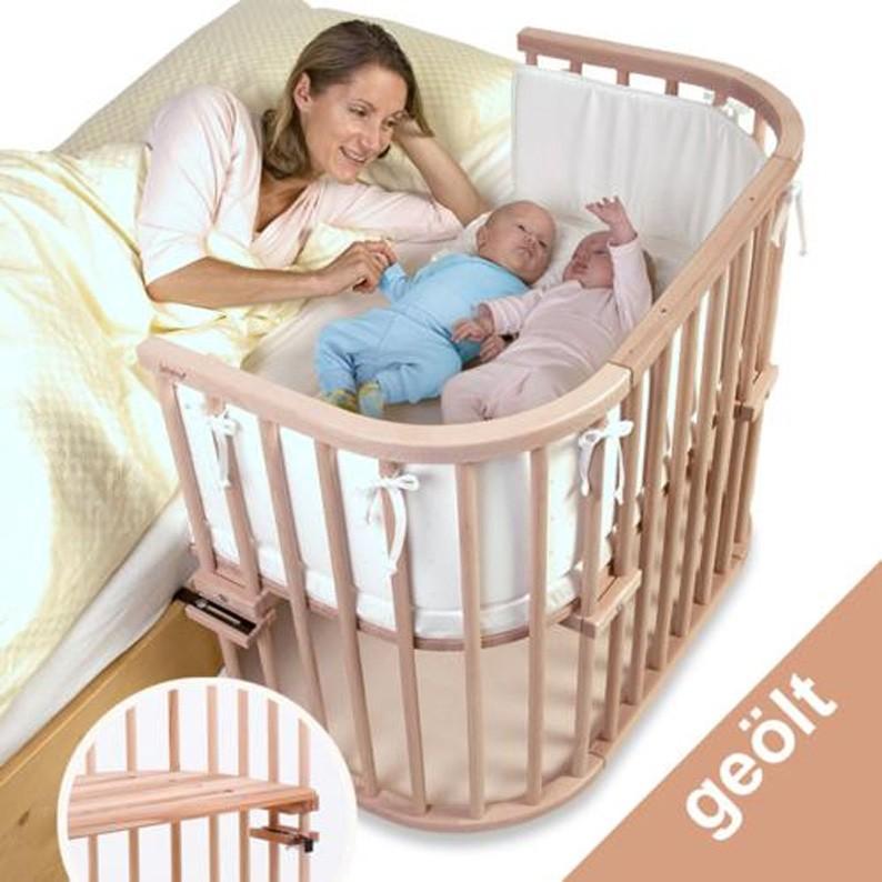 Babybay Beistellbett Maxi Kernbuche geölt extra belüftet