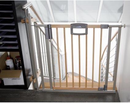 Geuther Easy Lock Wood 2783 87-97,5 cm Treppenschutzgitter