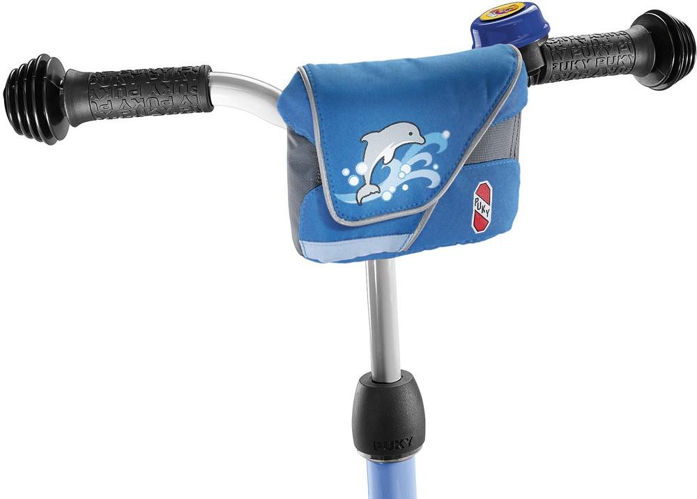 Puky Lenkertasche Design 1 blau/hellblau