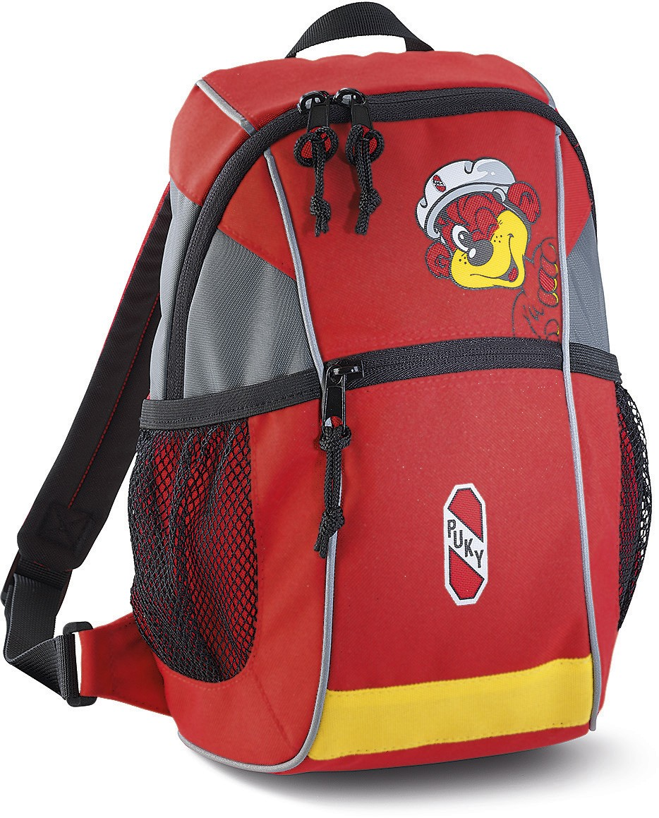 Puky Rucksack rot/gelb RS