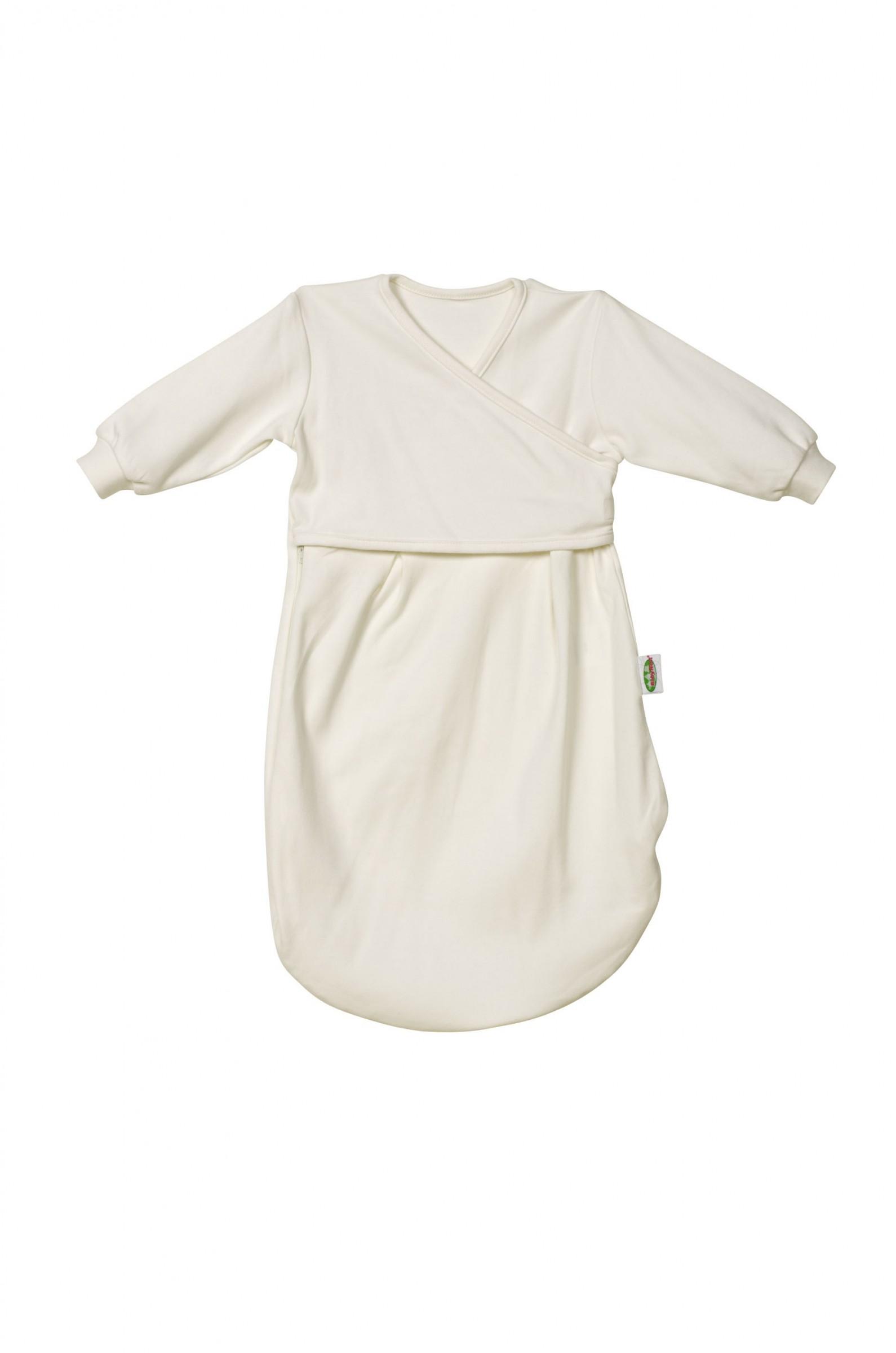 Odenwälder Jersey Unterzieh-Schlafsack Baby natur 1270