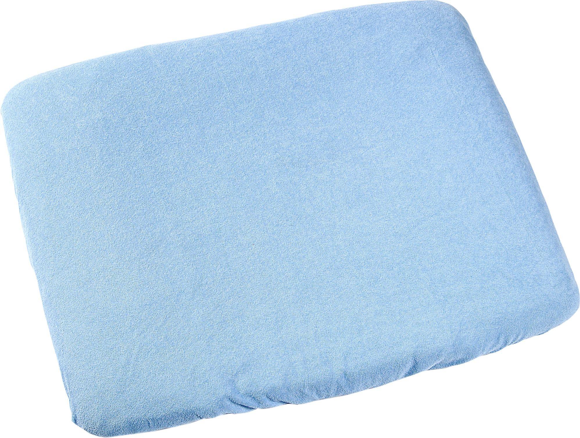 Odenwälder Frottee-Bezug Wickelauflage hellblau
