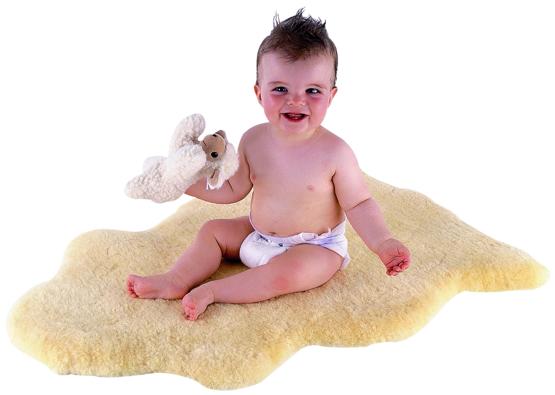 KAISER Babylammfell medizin 90-100 cm