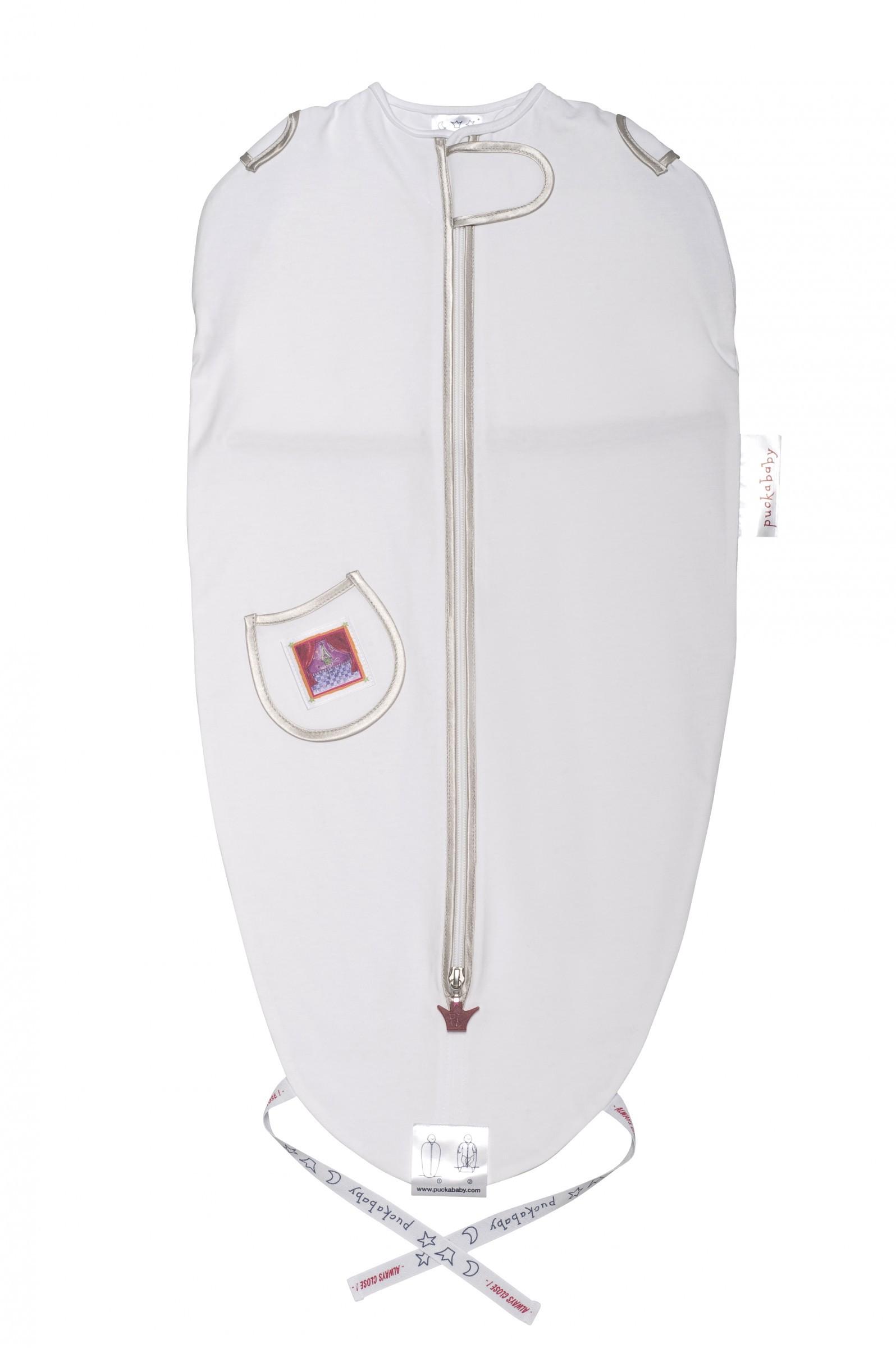 Puckababy Schlafsack Mini PBM white/silver