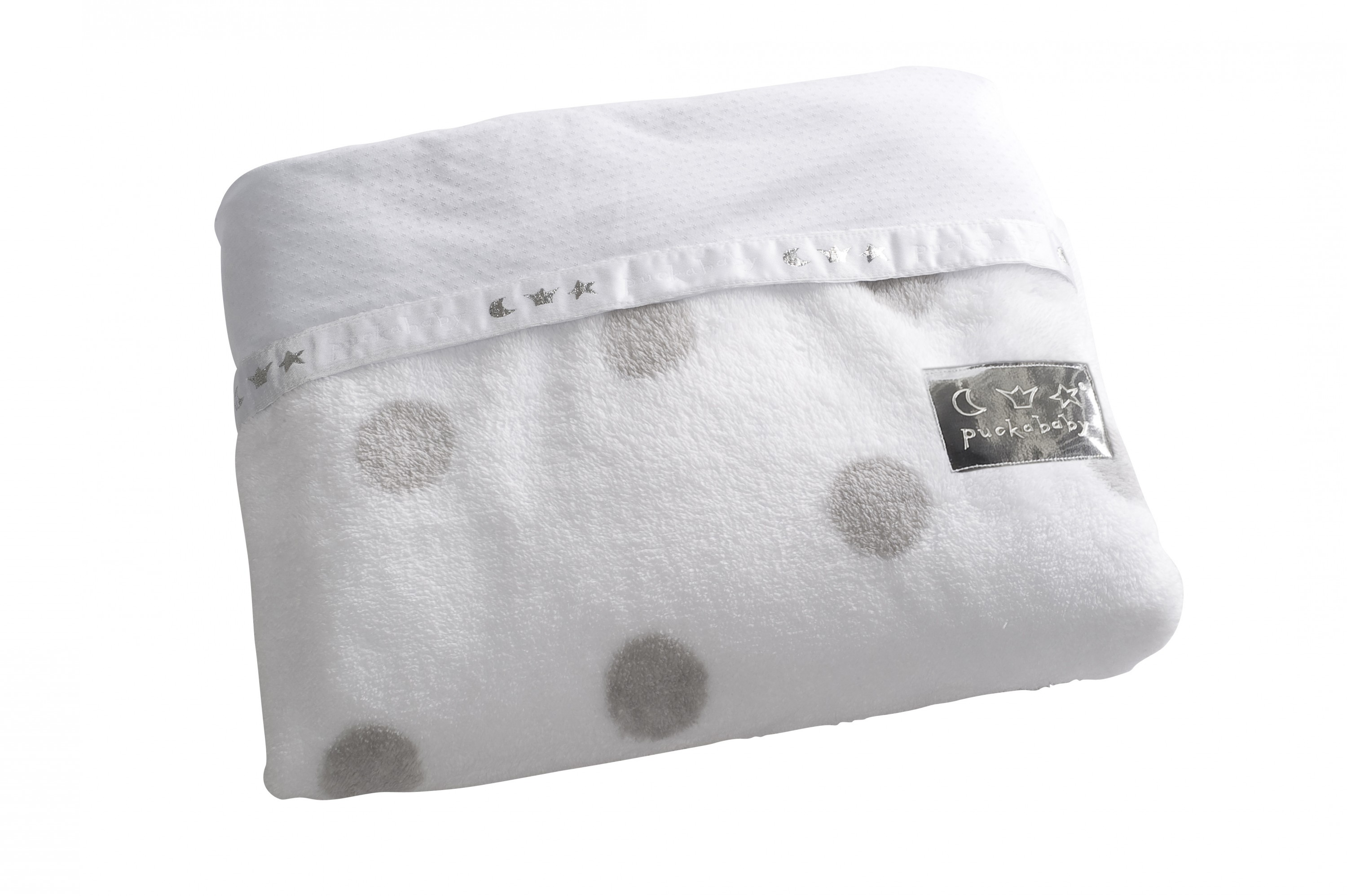 Puckababy Kuscheldecke Cover 2-in-1 white