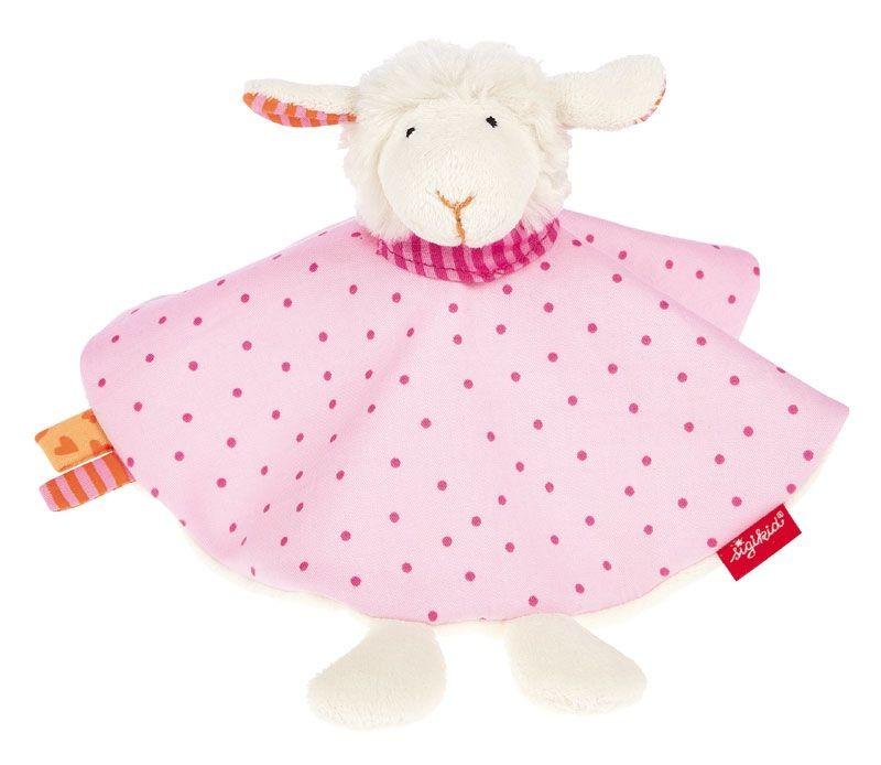 Sigikid Fingerpuppen-Schnuffeltuch Schaf