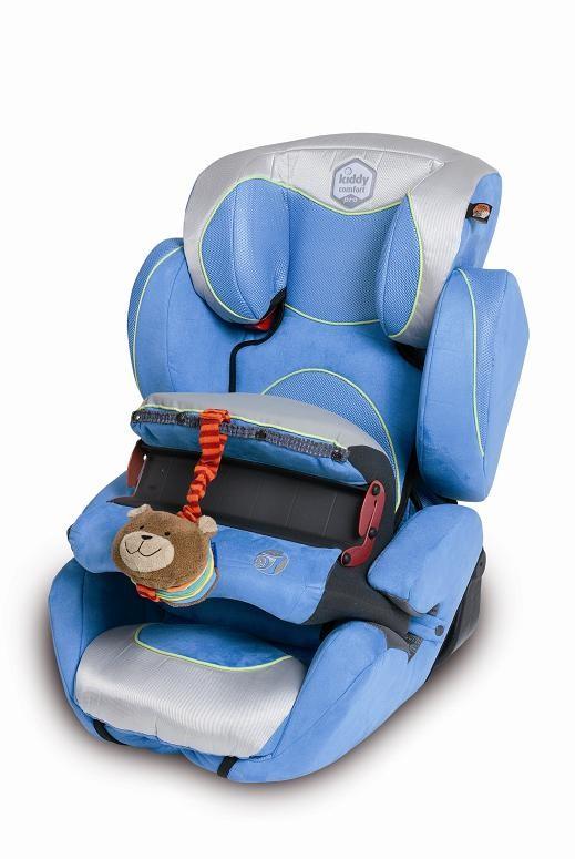 Kiddy Comfort pro 020 hellblau/silber Kinderautositz
