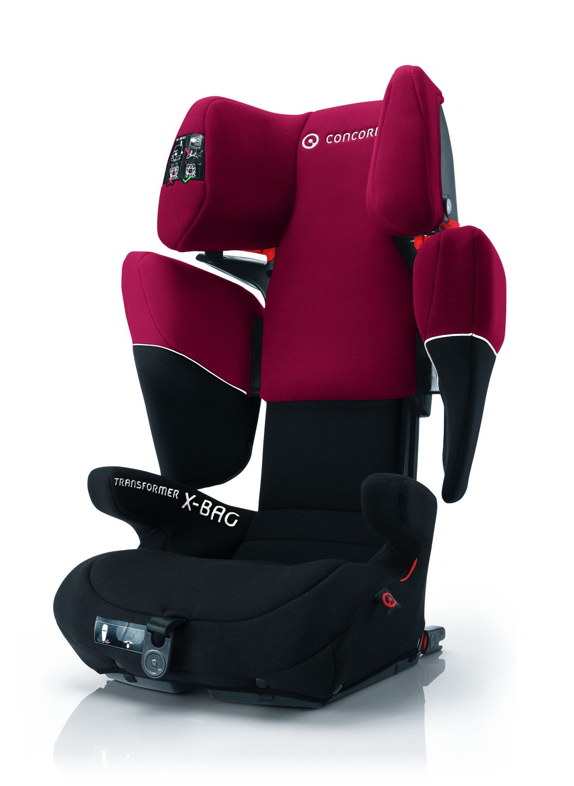 Concord Kinderautositz Transformer X-Bag Pepper