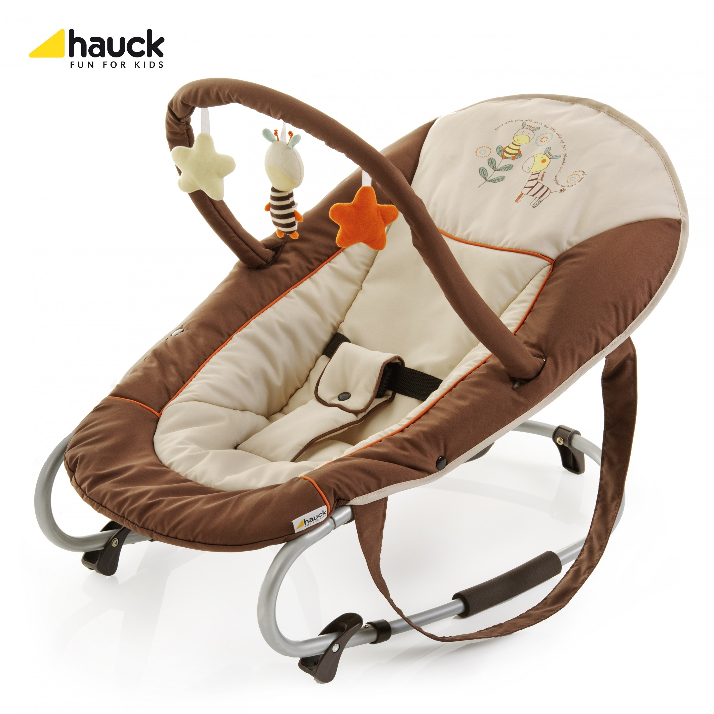 Hauck Wippe Bungee Deluxe Little World