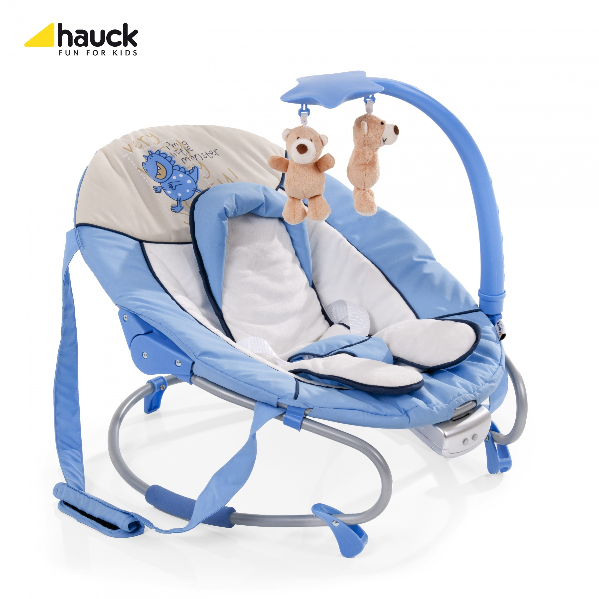Hauck Wippe Leisure e-motion Little Monster