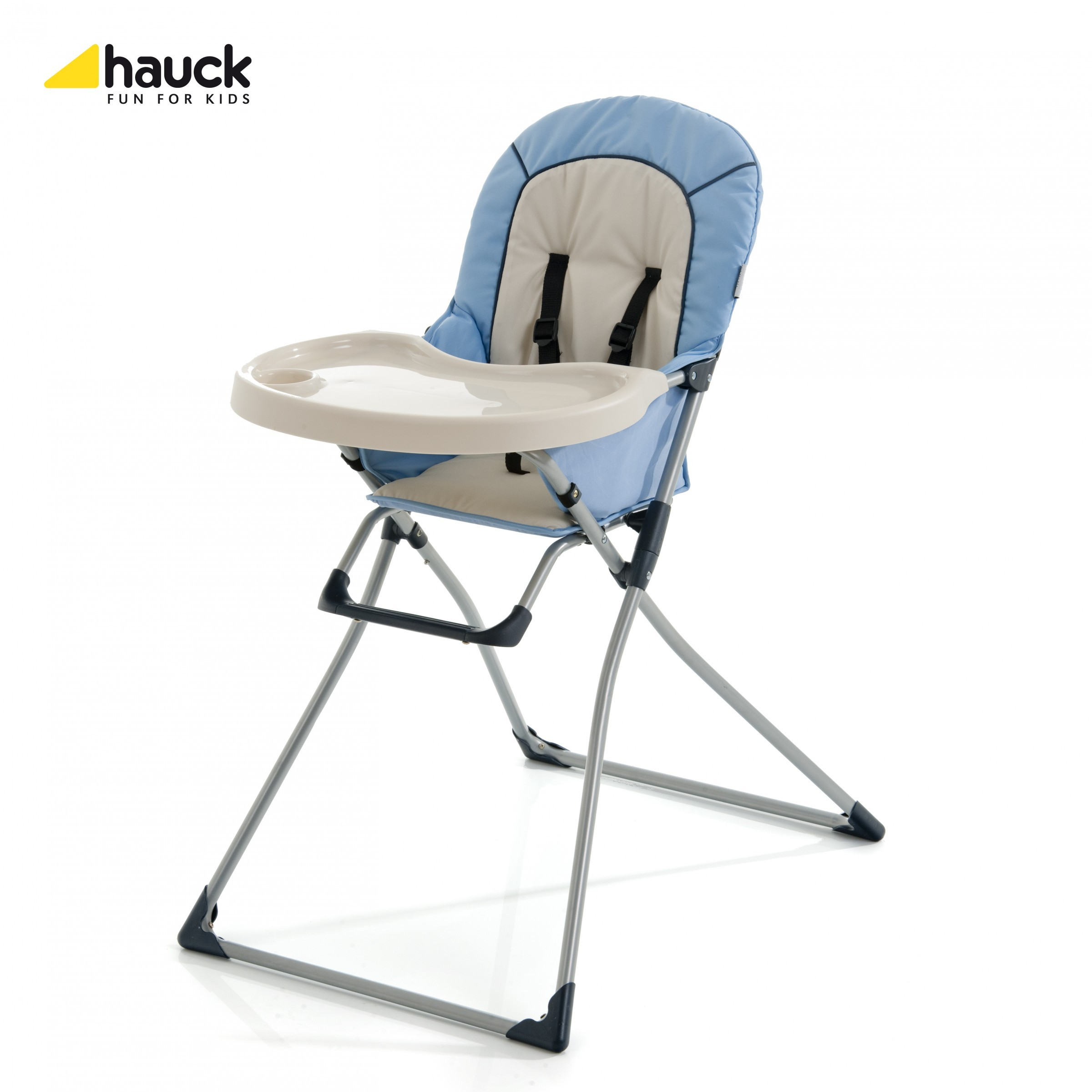 Hauck Mac Baby Hochstuhl blau