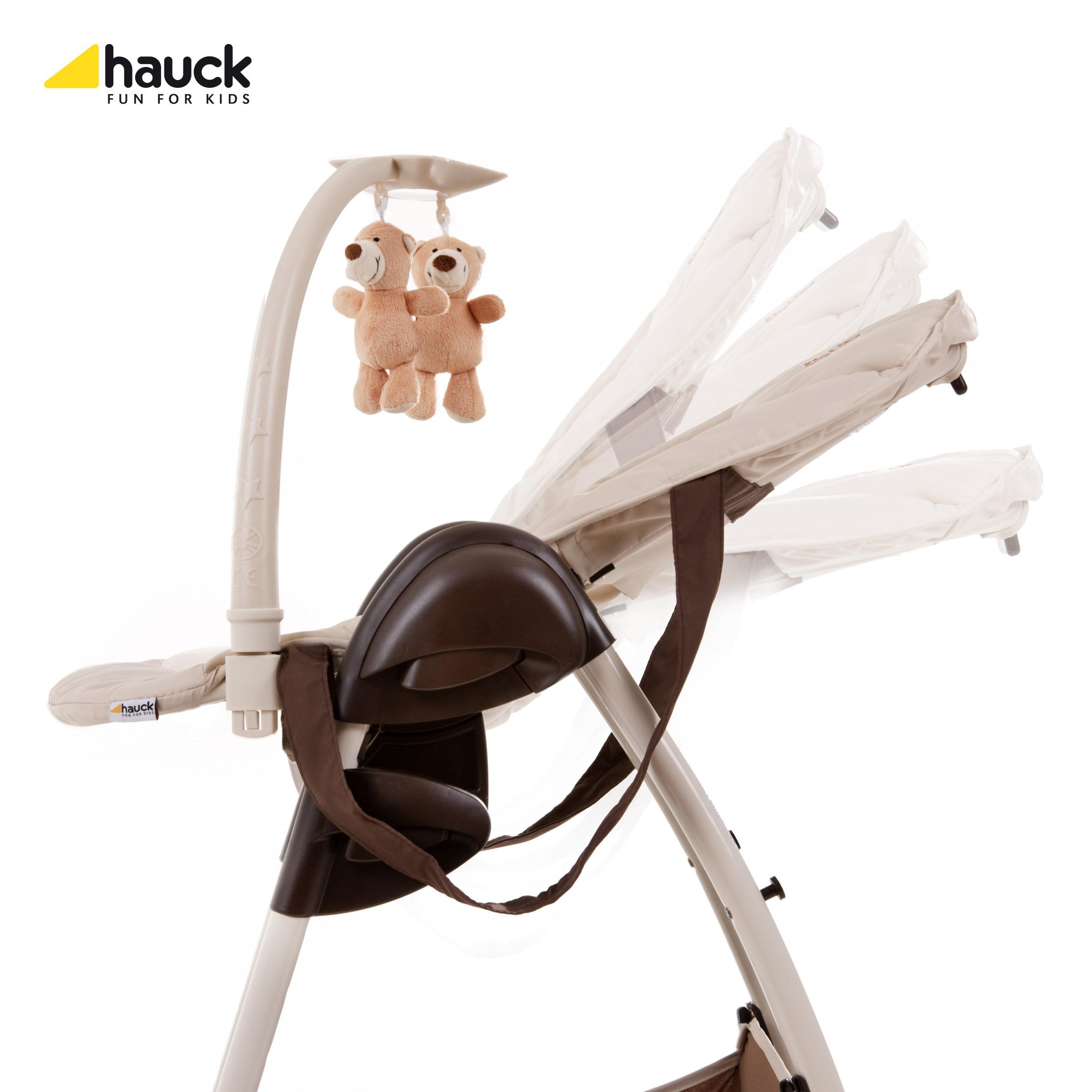 Hauck Sit´n Relax Zoo Hochstuhl+Babywippe