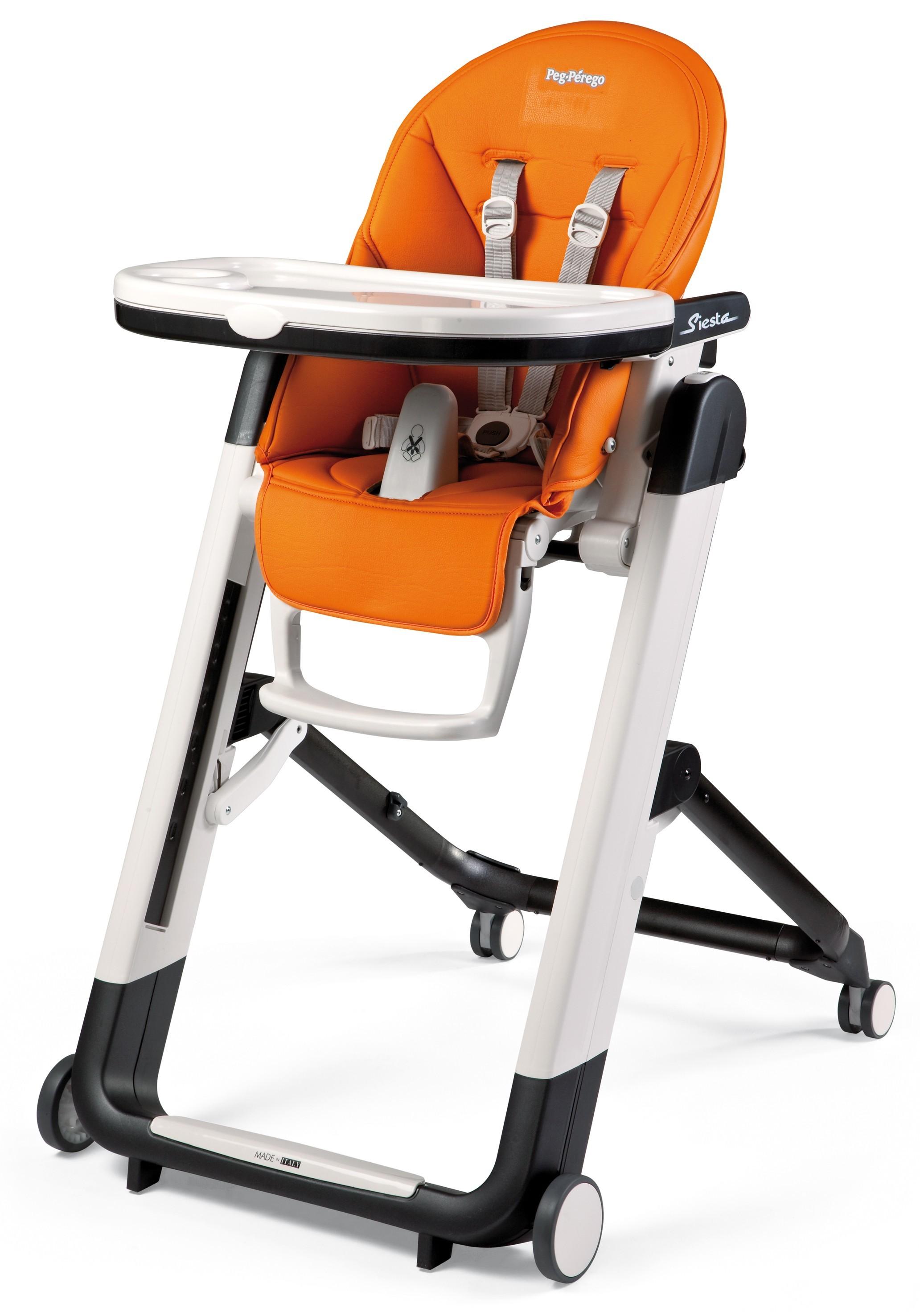 Peg Perego Siesta Hochstuhl Babyliege Arancia (orange)