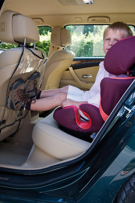 Alvi Autositzschutz für Vordersitz Klarsichtfolie