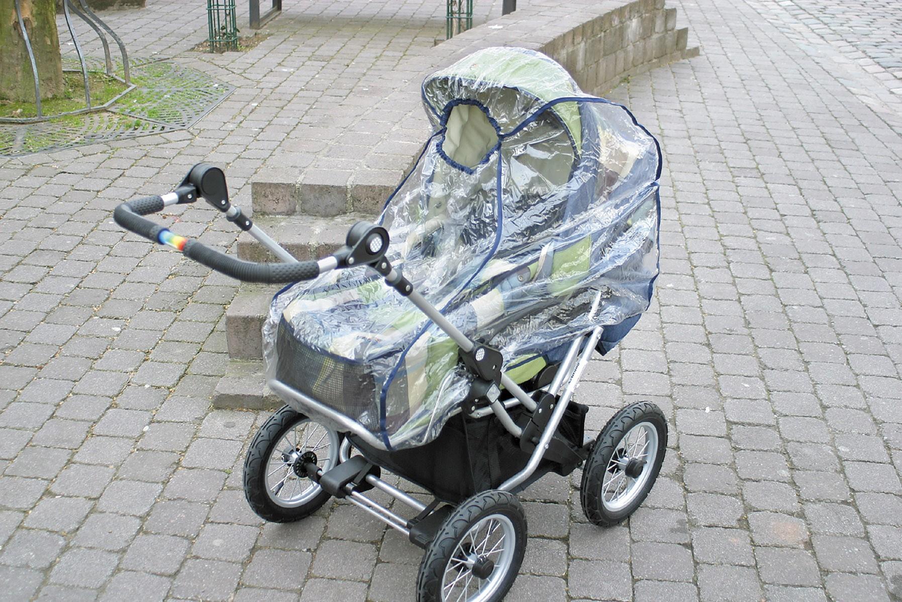 Alvi Regenschutz de Luxe für Kinderwagen