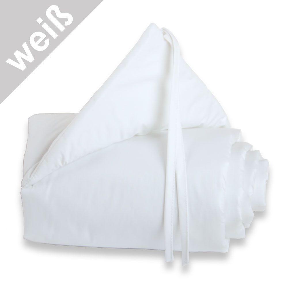 Babybay Nestchen weiß/weiß für Beistellbett maxi