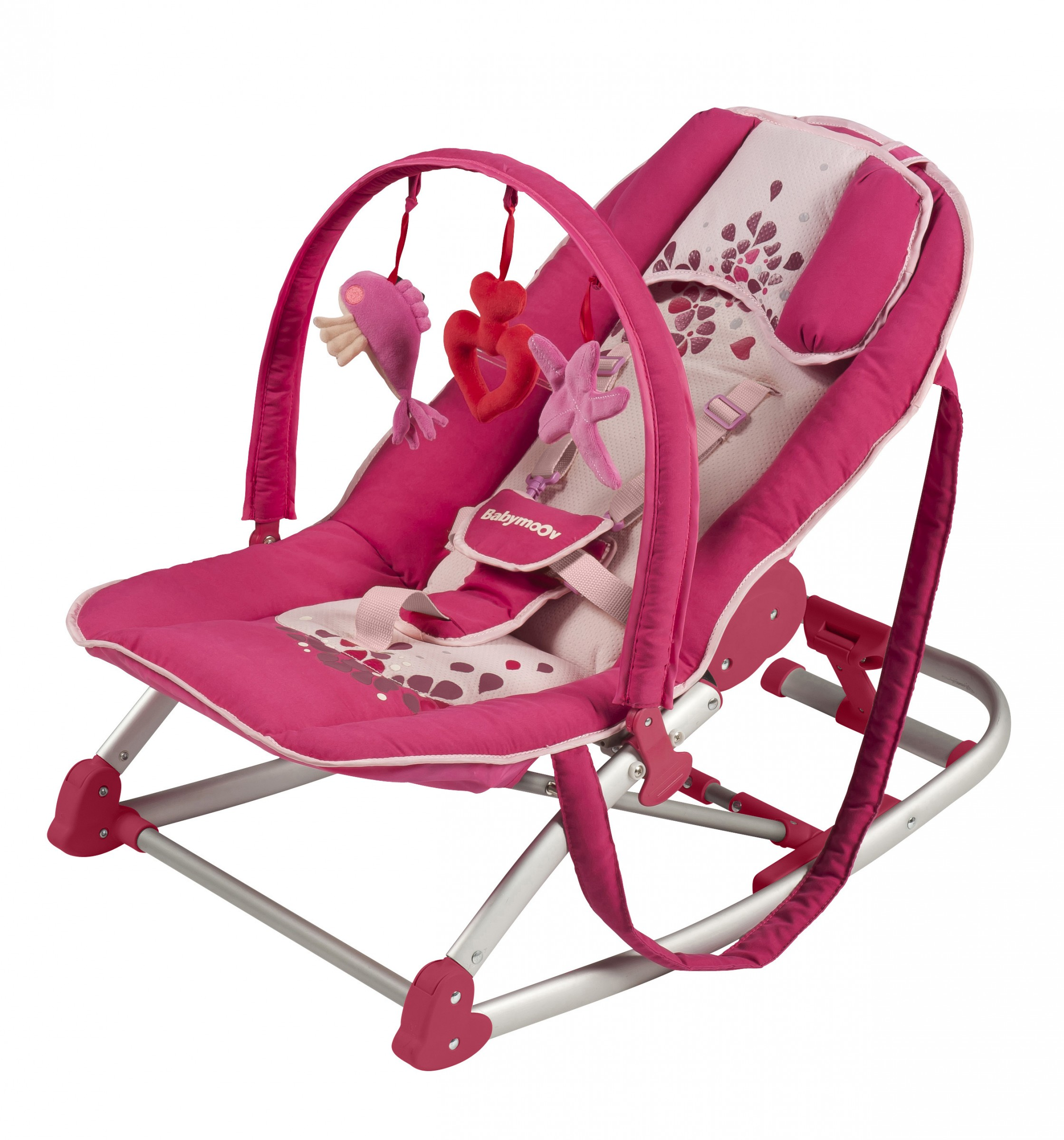 Babymoov Emotion Wipper-Sitz himbeer