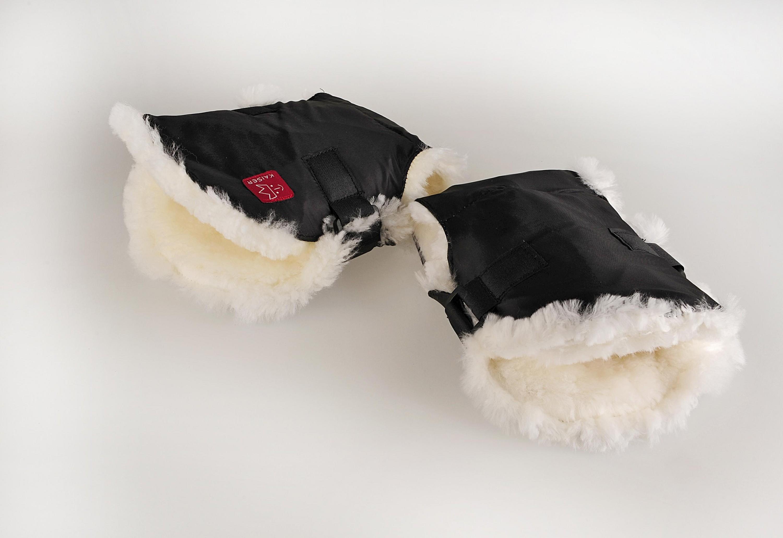 Kaiser Handwärmer Sheep Single schwarz/weiß