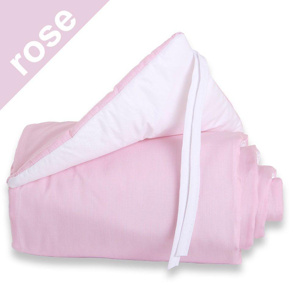 Babybay Nestchen rose/weiß für Beistellbett maxi