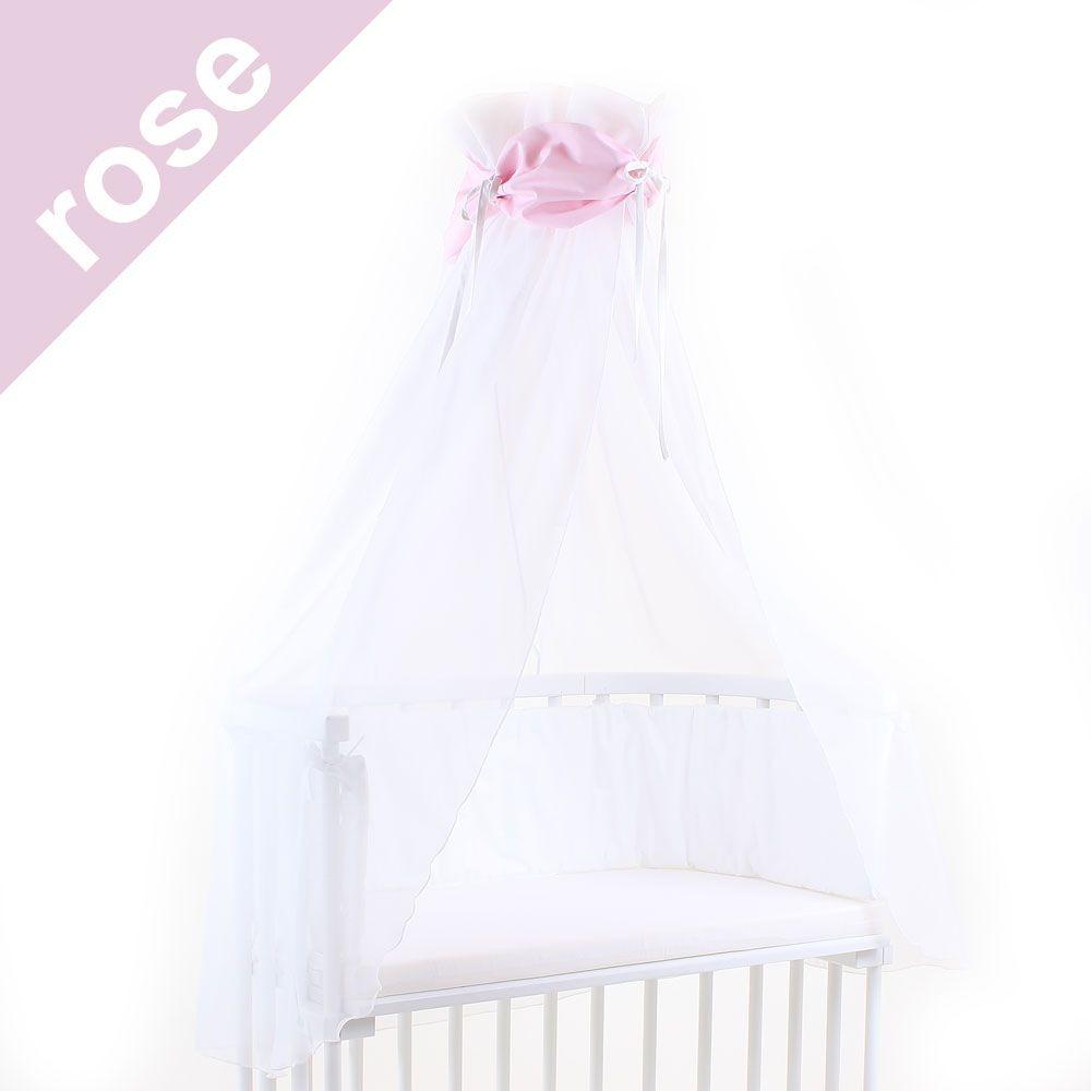 Babybay Himmel für Beistellbett rose/weiß