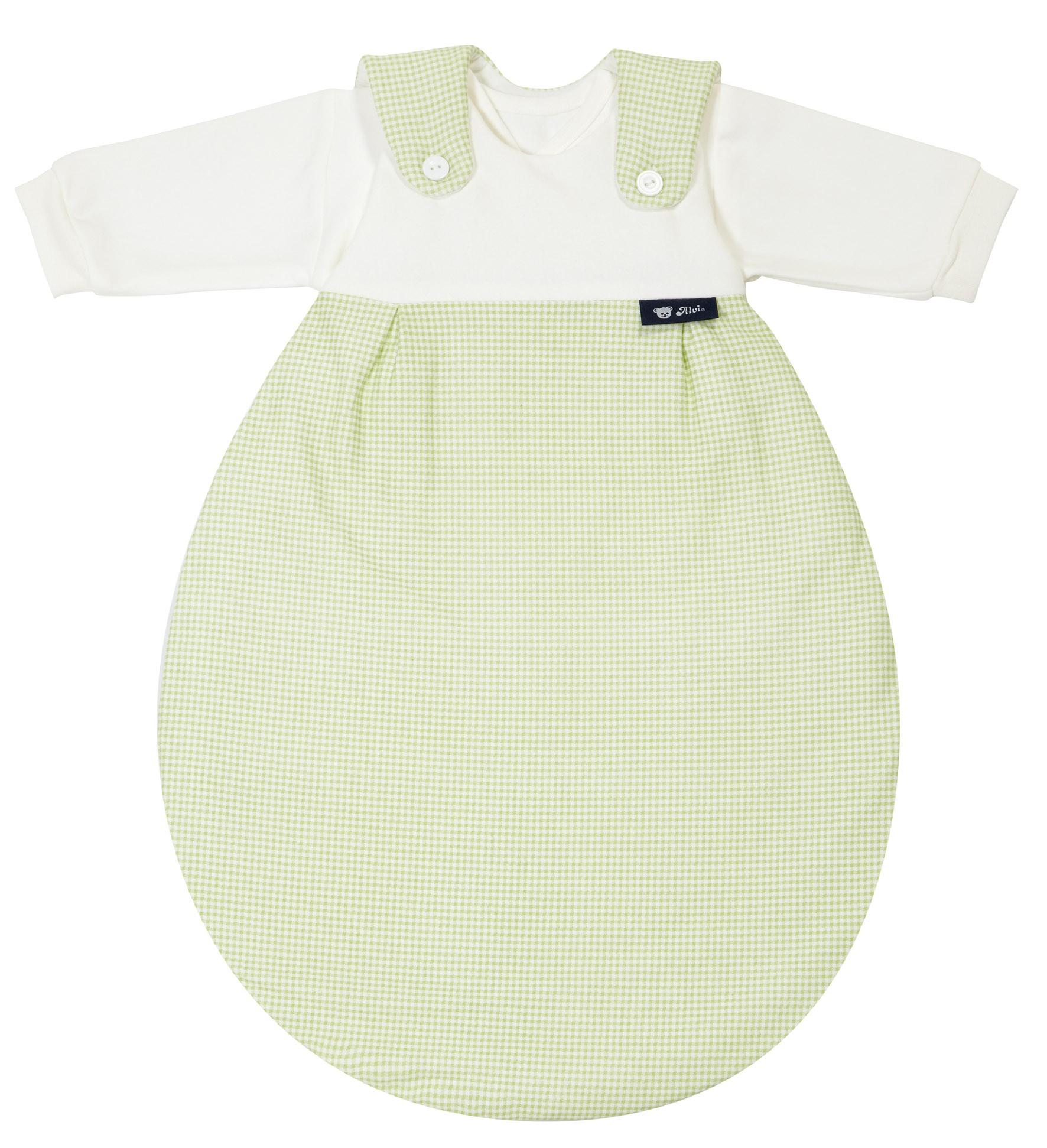 Alvi Baby Mäxchen 372-3 Karo grün