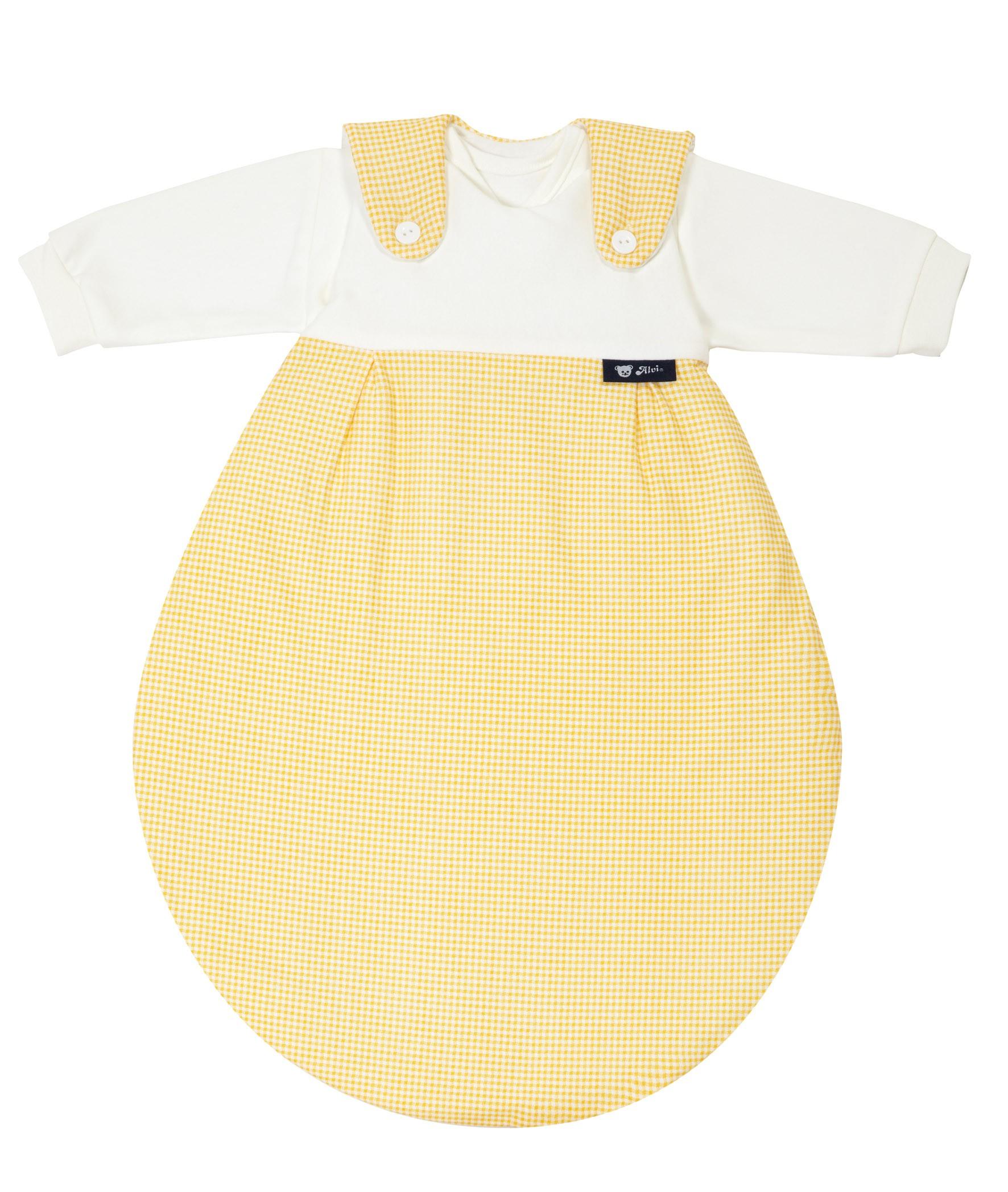 Alvi Baby Mäxchen 372-4 Karo gelb