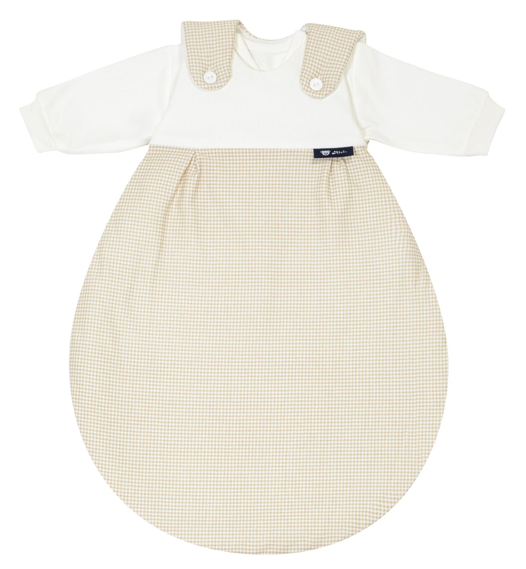 Alvi Baby Mäxchen 372-6 Karo beige